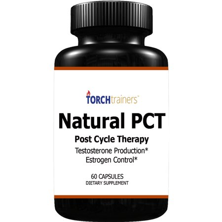 Torch Trainers Natural PCT-Post Cycle Therapy - 60 Capsules