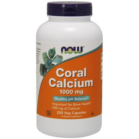 Coral calcium - 1000mg Foods NOW 250 vcaps