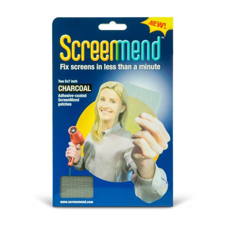 Screenmed Door And Window Screen Repair Patch Charcoal