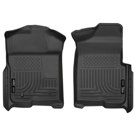 Husky Liners Front Floor Liners Fits 09-14 F150 SuperCrew/SuperCab/Standard