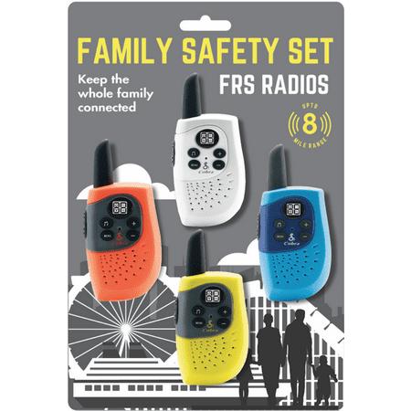 Cobra Family Two Way Radio / Walkie Talkie (4-Pack) (SH130-4 )