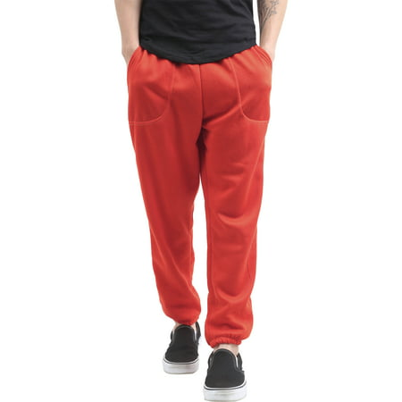 Men's Elastic Bottom Sweatpants with Pockets ()
