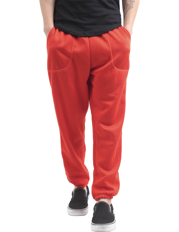 Men's Elastic Bottom Sweatpants with Pockets