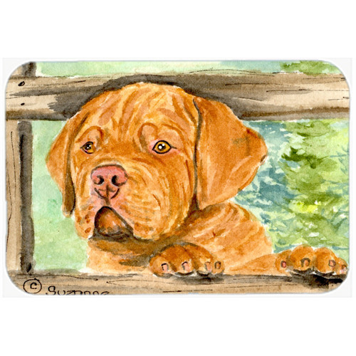 Caroline's Treasures Dogue de Bordeaux Glass Cutting Board by Caroline's Treasures