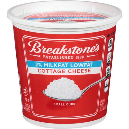 Breakstones 2 Milkfat Small Curd Lowfat Cottage Cheese