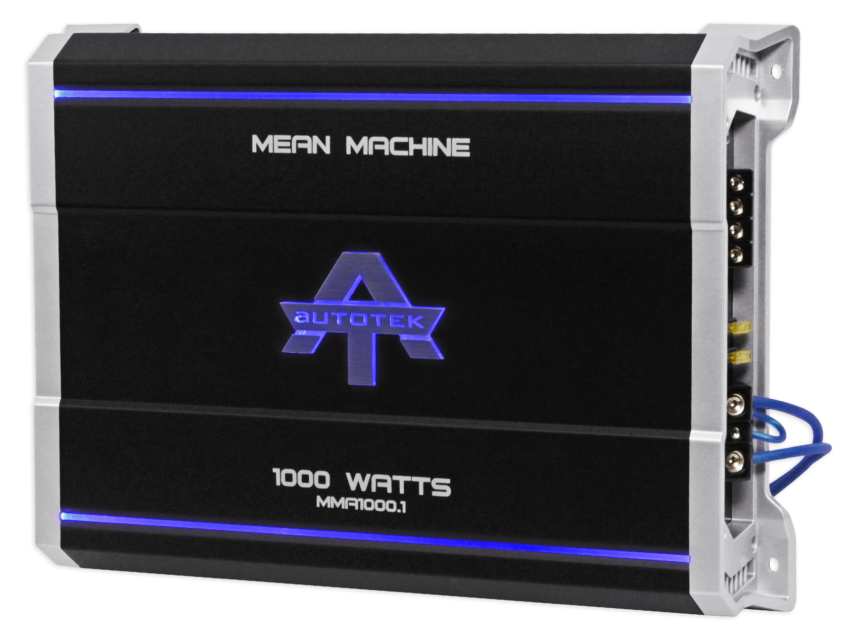 Autotek MMA1000.1 1000 Watt @ 2 Ohm Mono Car Audio Amplifier+Amp Kit+Bass  Remote - Walmart.com