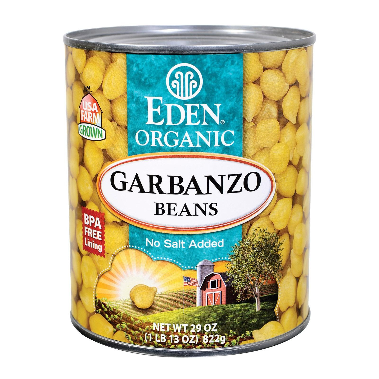 Eden Foods Organic Garbanzo Beans - Pack of 12 - 29 Oz.