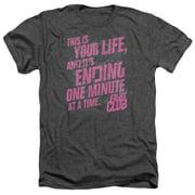 Fight Club - Life Ending - Heather Short Sleeve Shirt - Small