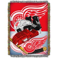 "NHL 48"" x 60"" Home Ice Advantage Series Tapestry Throw, Redwings"