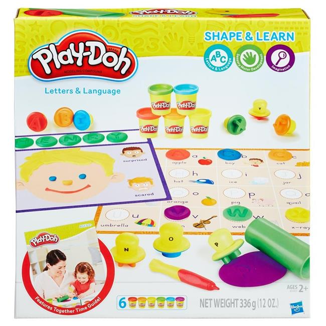 Hasbro HSBB3406 Play-Doh Numbers & Counting, Set of 4 by Hasbro