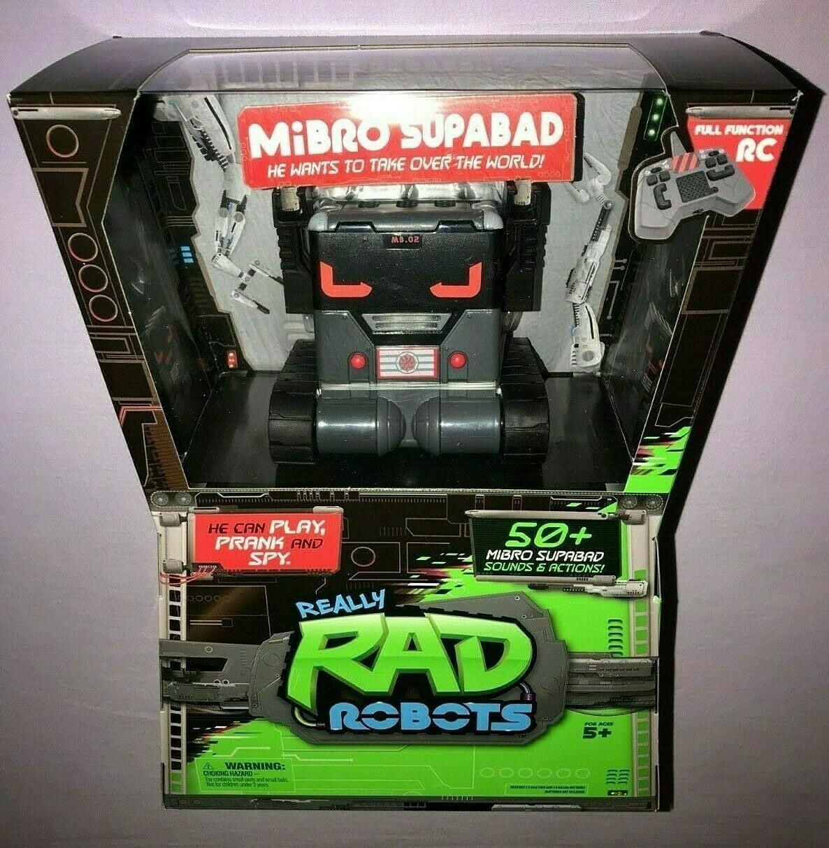 Supabad Really Rad Robots Mibro