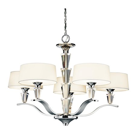 Kichler 42030ch crystal persuasion 5 light chandelier 30w in kichler 42030ch crystal persuasion 5 light chandelier 30w in chrome aloadofball Choice Image