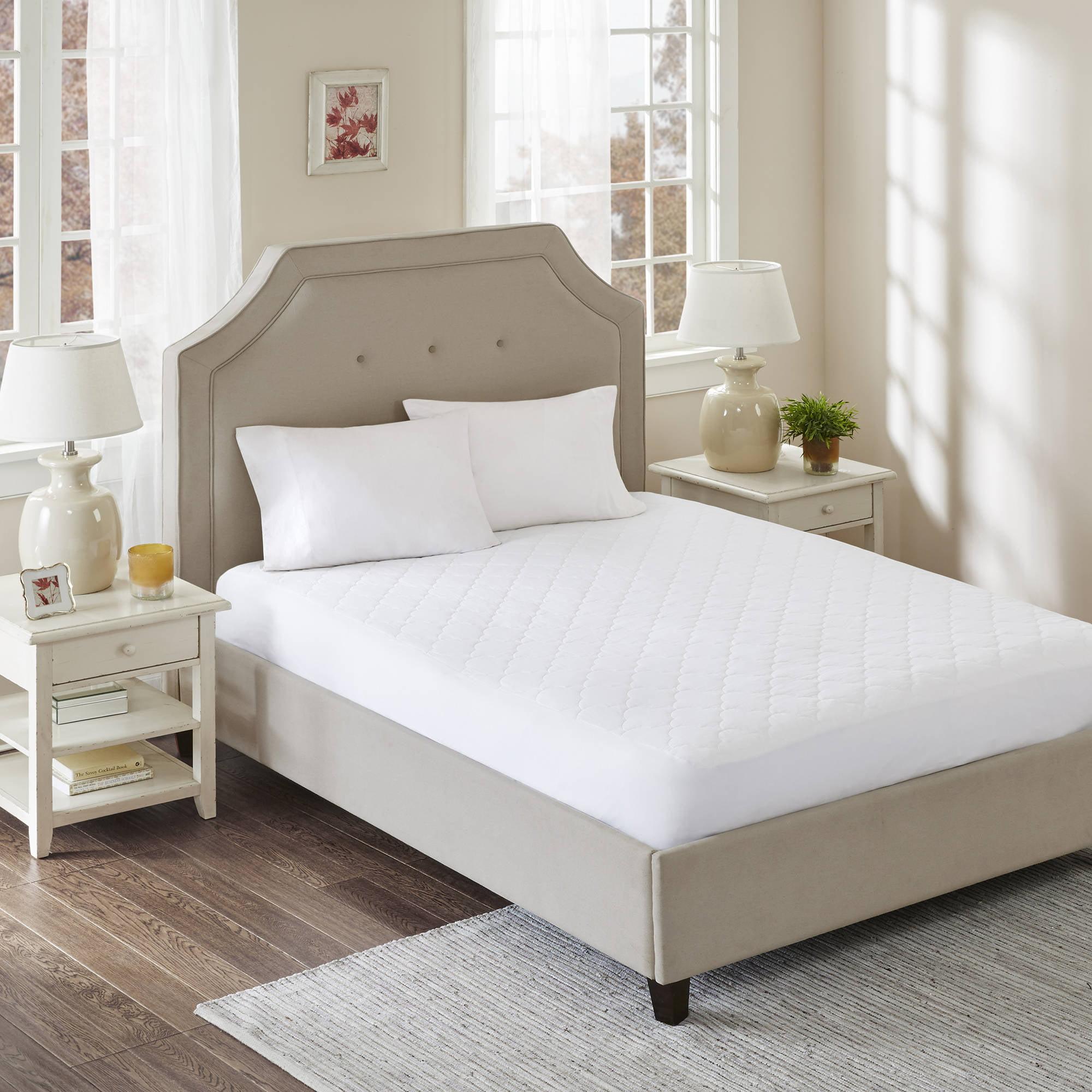 Comfort Classics All Natural Cotton Filled Mattress Pad