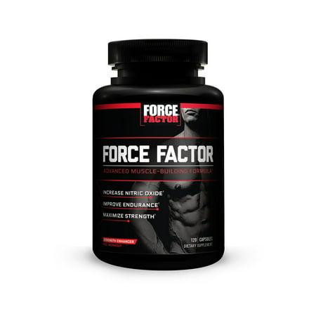 Force Factor Pré entraînement 120 Capsules