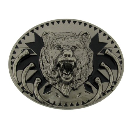 Howling Wolf Western Metal Belt Buckle Native American Chief Fashion Costume New