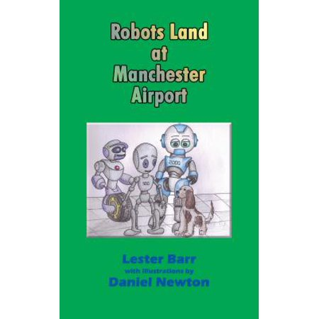 Robots Land at Manchester Airport - (Manchester Airport Stores)