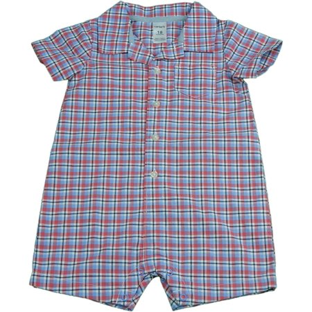 51144129eaf5 Carter s - Carter s Baby Boys 9 Months Short Sleeve Button-Down One ...