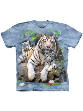 The Mountain Men's  W Tigers Of Bengal T-shirt Blue