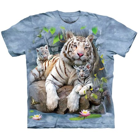 The Mountain Men's  W Tigers Of Bengal T-shirt - Bengal Dress Shirt