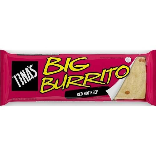 Tina's Big Burrito Red Hot Beef, 16 oz