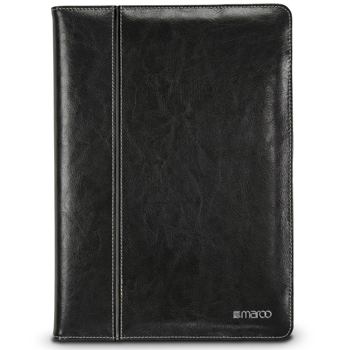 Maroo Pro Hinge Folio Case Black Leather for Microsoft Surface Pro
