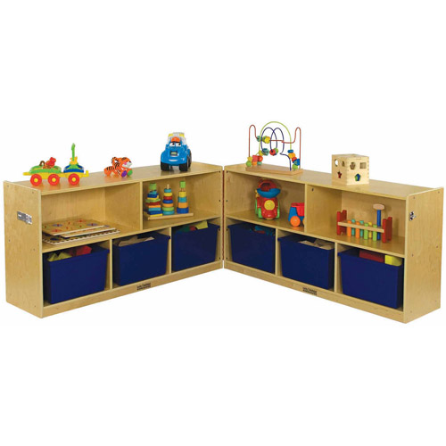 "24"" Fold and Lock Cabinet - 5 Compartment"
