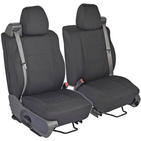 PolyCustom Seat Covers for Ford F-150 Regular and Extended Cab 04-08, Integrated Seat Belt, EasyWrap
