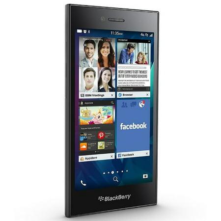 BlackBerry Leap STR100-2 16GB Unlocked GSM 4G LTE Phone - Shadow Grey (Certified Refurbished)