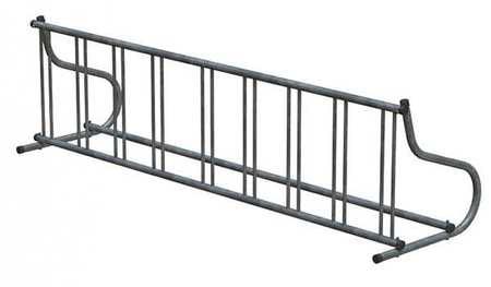 "110"" Single Sided Bike Rack, Silver ,Madrax, GR116-G by MADRAX"