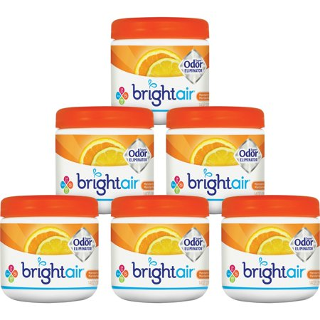 Bright Air, BRI900013CT, Super Odor Eliminator Air Freshener, 6 / Carton, Orange