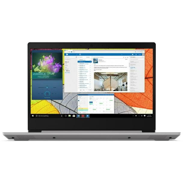 Lenovo Ideapad 1 14ast 05 14 4gb 64gb Amd A9 9420e X2 1 8ghz Platinum Grey Certified Refurbished Walmart Com Walmart Com
