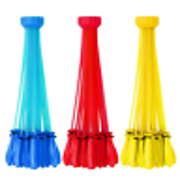 ·Water Ballons Bunch O Balloon style - 6 Bunches 222 Pcs Self-Sealing Instant Water Balloons