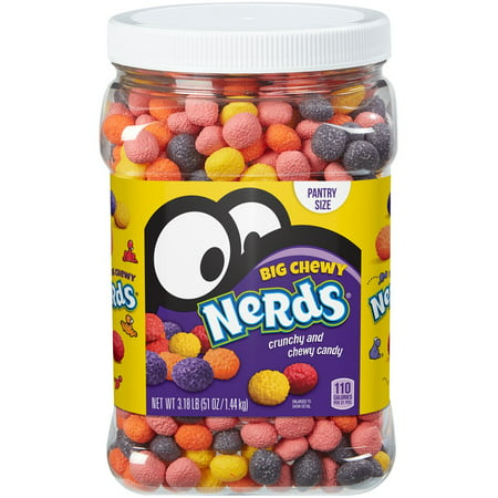 Nerds Big Chewy Candy Canister, 51 Oz. (Nerds Halloween-kostüme)