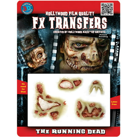 Halloween Professional 3D Tattoo, The Running Dead (Halloween Tattoos Oriental Trading)