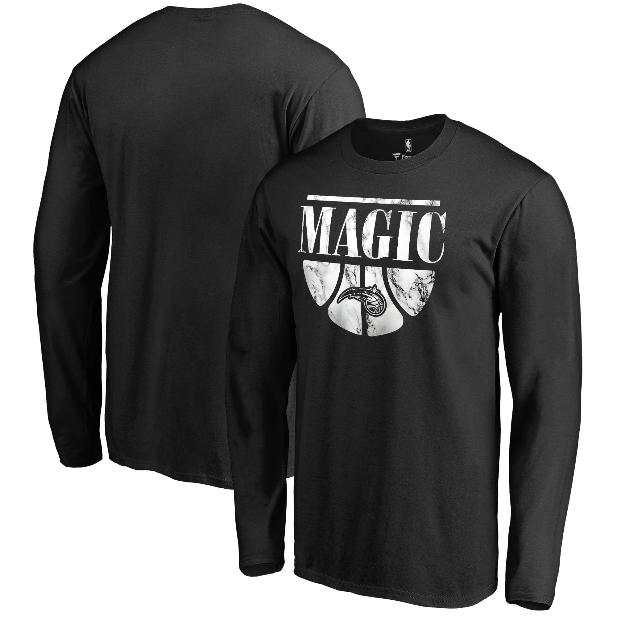 Orlando Magic Fanatics Branded Buckets Long Sleeve T-Shirt - Black