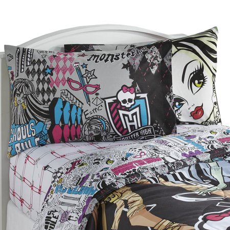 Monster High Sheet Set The In Crowd Bedding Accessories