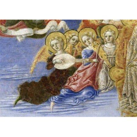 Posterazzi SAL263399 Ascension of the Virgin Predella Detail 1466 Benvenuto di Giovanni Guasta 1436-1518 Italian Tempera on Wood Panel Pinacoteca Volterra Italy Poster Print - 18 x 24 in. - image 1 of 1