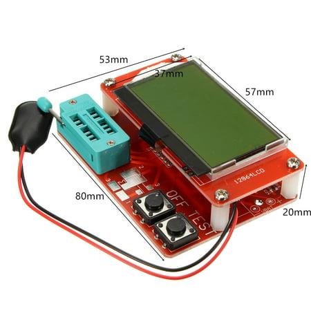 Component Tester Transistor Diode Capacitance ESR Meter Mosfet NPN Inductance ! - image 2 of 6