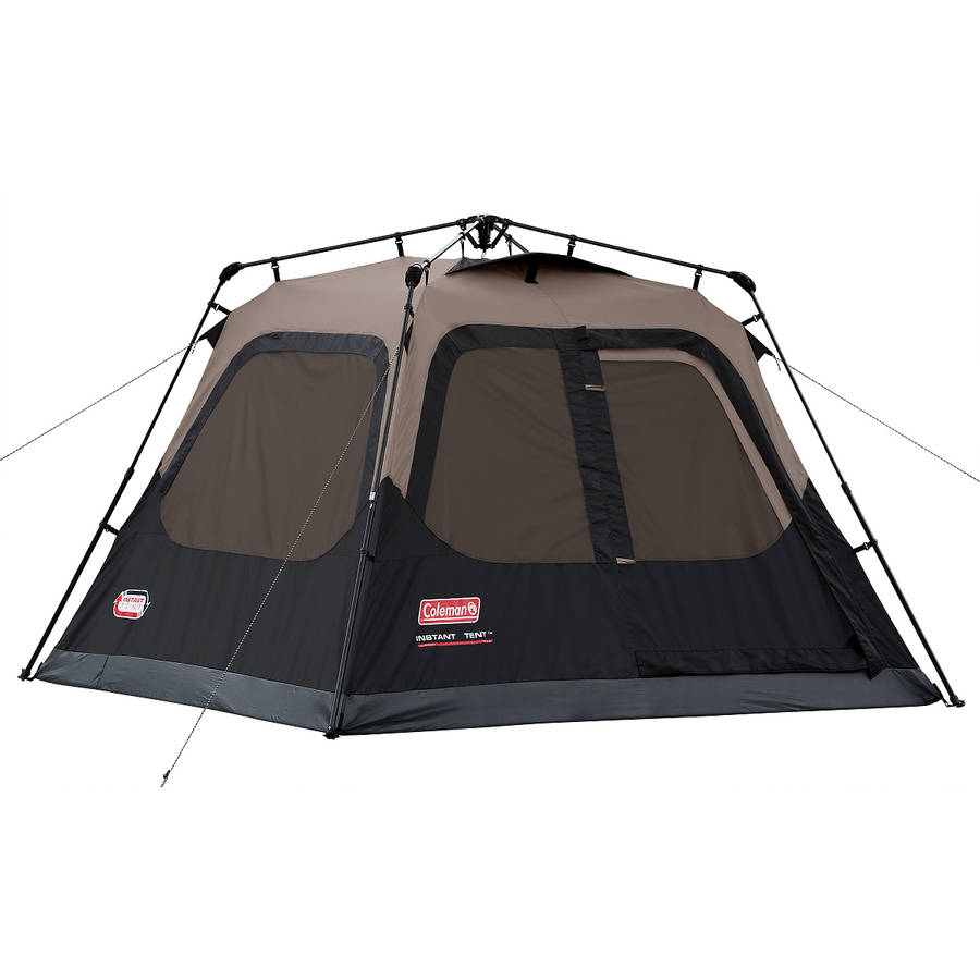 Coleman Outdoor Family C&ing 4-Person Instant Tent 8 x 7 Feet w/ WeatherTec | eBay  sc 1 st  eBay & Coleman Outdoor Family Camping 4-Person Instant Tent 8 x 7 Feet w ...