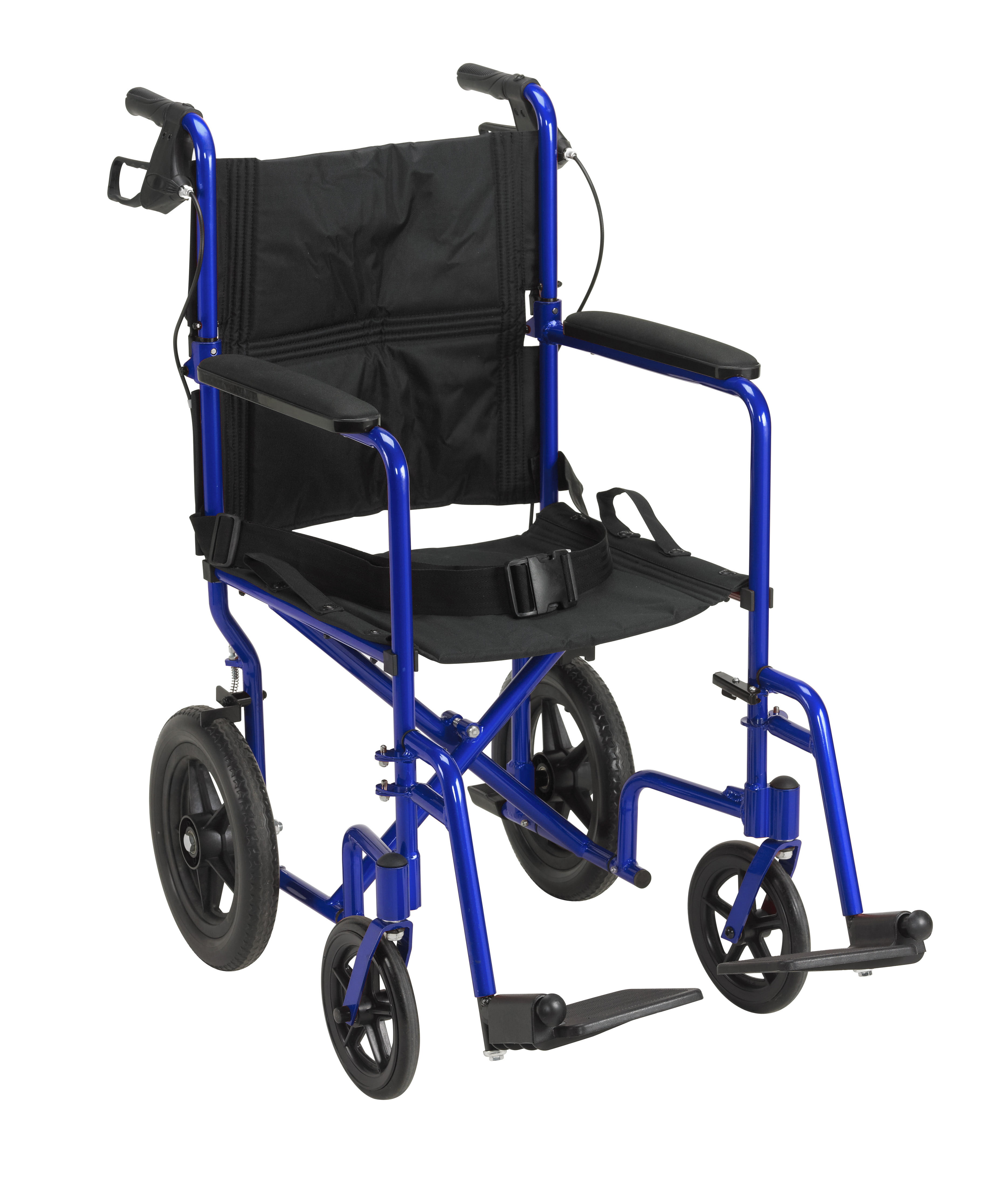 Drive Medical Lightweight Expedition Transport Wheelchair with ...