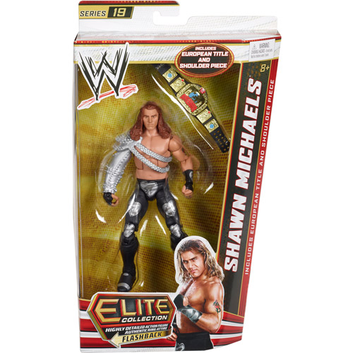 WWE Elite Series Shawn Michaels Action Figure