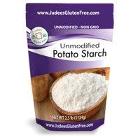 Judee's Gluten Free Unmodified Potato Starch, 2.5 lb