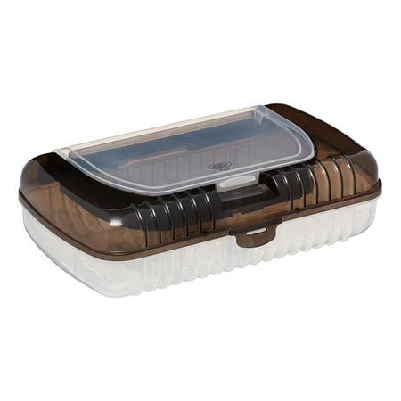 (4 Pack) Pen + Gear Pencil Box with Top Bin