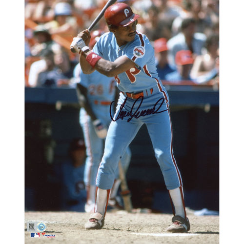 "Juan Samuel Philadelphia Phillies Fanatics Authentic Autographed 8"" x 10"" Batting Stance Photograph - No Size"