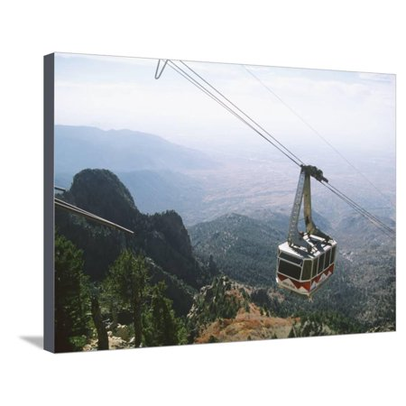 Sandia Peak Tramway, Albuquerque, New Mexico, USA Stretched Canvas Print Wall Art By Michael (Albuquerque New Mexico Mall)