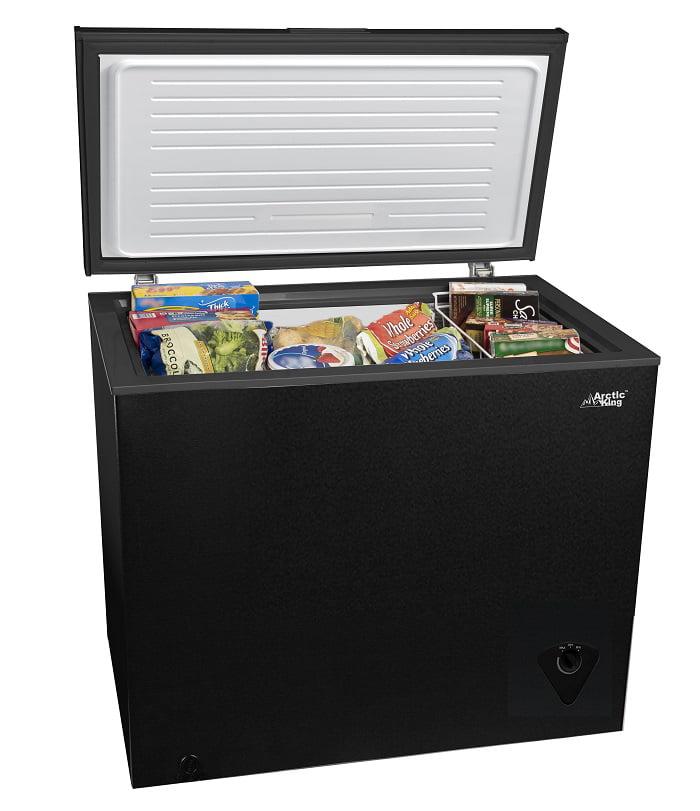 Arctic King 7 Cu Ft Chest Freezer Black Walmart Com Walmart Com