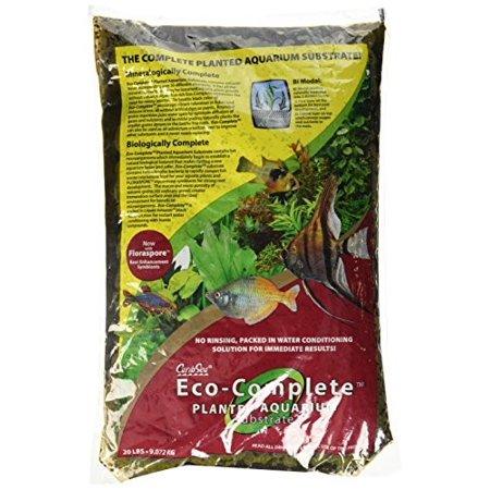 Eco Complete Planted Black Aquarium Substrate - 20 lbs