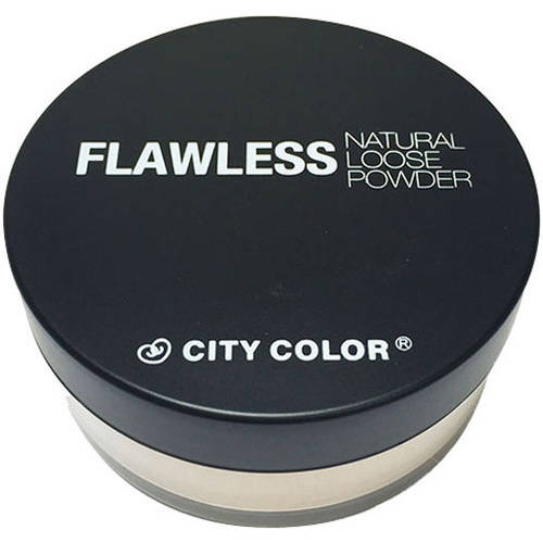 City Color Flawless Natural Loose Powder, Light, .41 oz