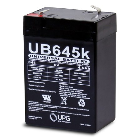 6V 4.5AH Battery for Best Choice Kids Ride On Motorcycle Model