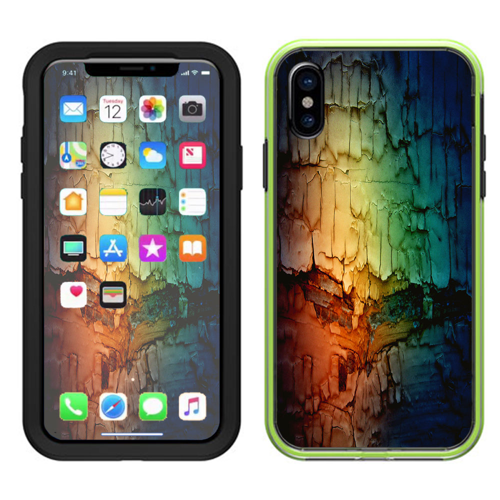Skins Decals For Lifeproof Slam Iphone X Case  / Multicolor Rock